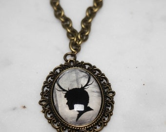 Hannibal - Will Graham silhouette necklace