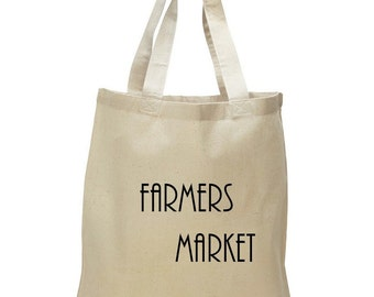 Reusable Tote, Farmers Market, Grocery Bag