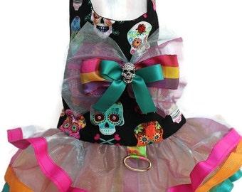 Dog Dress - Skulita Punk Rock - Dog Harness