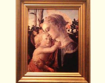 Traditional image Maria/Madonna, renaissance, religious icon