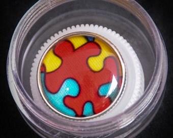 Puzzle Piece Lanyard/Lapel Pin