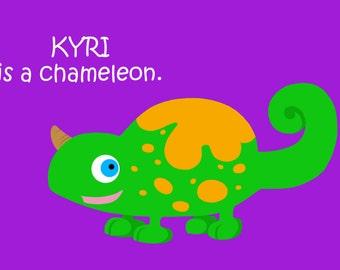 KYRI Doodle Character 4x6 Digital Art Print DooFaYA