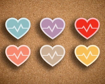 Heart Rate, Cardio Icon Planner Sticker IWP-DCHR1