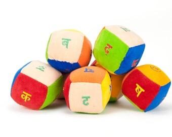Alphabet cubes - Hindi - 36 characters