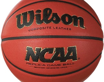 Customized Personalized Laser Engraved Basketball Gift Wilson NCAA