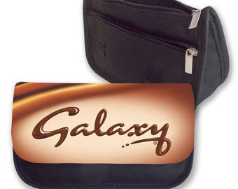 Galaxy chocolate Pencil case / make up bag