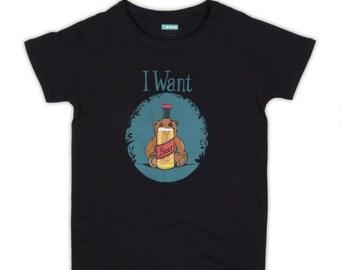 I Want Beer T-shirt