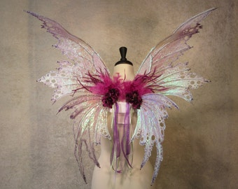 Made to Order - Iridescent Double Panel Fairy Wings