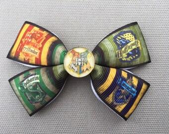 Handmade Harry Potter Inspired Hair Bow