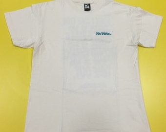 90s NO FEAR Where I Come From There Is No Next Time There Is No Second Chance There Is No Time Out Large Shirt