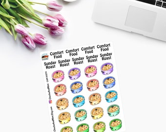 CROCK POTS Comfort Food Planner Stickers  CAM00270