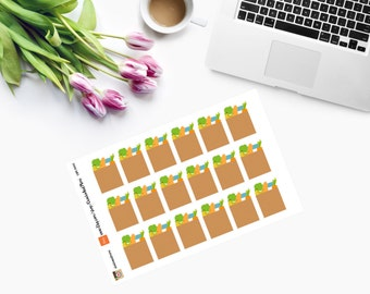 Paper Bag Planner Stickers  - CAM00001