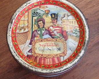 Vintage Chocolate Tin, Made in England