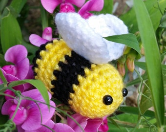 Handmade Crochet Bumble Bee