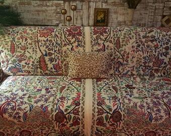 Slipcover/SofaScarf/Tree of Life Design