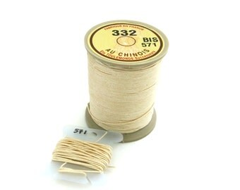 15 meters #332 Sajou Fil au Chinois Thread (Lin Cable)