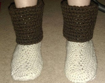 Slipper boots size 6