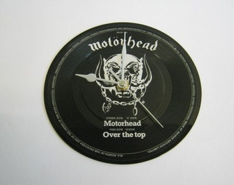 "Motorhead - ""Motorhead"" Picture Disc Record Wall Clock"
