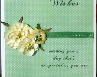 Birthday Wishes - Floral