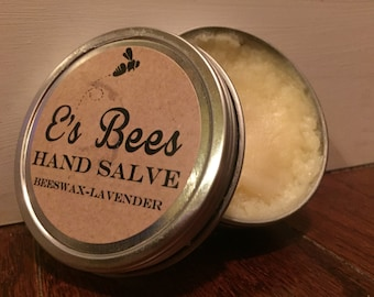 Hand Salve - Beeswax & Lavender