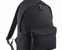 Plain backpack bag ufo swag dope hipster tumblr fashion trend facedown school travel pe sports bag p.e rucksack film album tour fan unisex