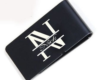 Personalized Groomsmen gift accessories - money clip