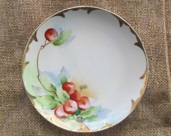 Nippon Plate, Vintage Hand Painted Plate, Noritake China