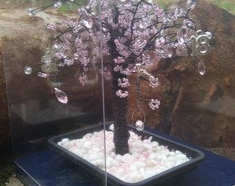 Beautiful Cherry Blossom 18th Birthday Tree with teardrop crystals    MA21