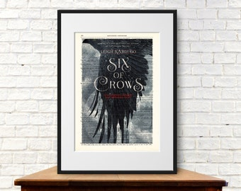 Six of Crows by Leigh Bardugo. Book Cover Art Print