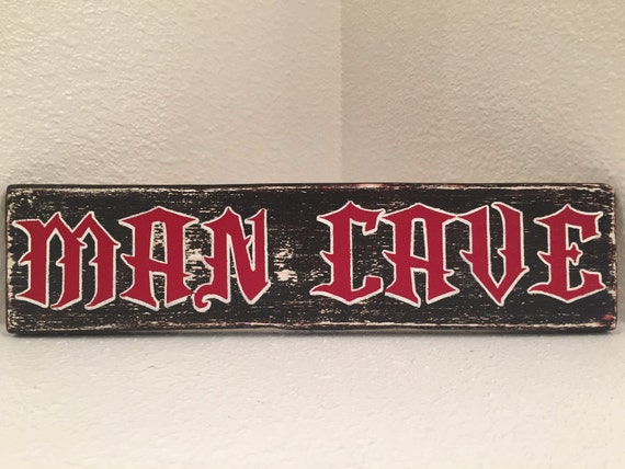 Man Cave Decor Etsy : Man cave wall decor wood sign hand made by signstreet on etsy