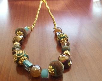 Unique beaded necklace