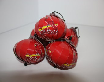 St. Louis Cardinals Ornaments : Single/Set of 5