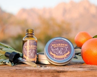 Sunburst Sage Beard Oils and Beard Balms by Bearded Brothers Oils & Balms