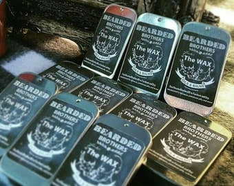 The Wax - Mustache Wax by Bearded Brothers Oils & Balms