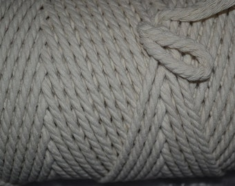 100 metres of twisted cotton edging pipping cord