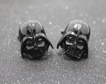 The dark knight cufflinks silver Darth Vader Star Wars Cufflinks