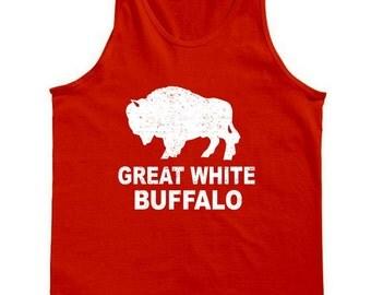 Great White Buffalo Tank Top
