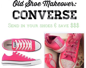 Old Shoe Makeover - Converse