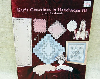 Embroidery, Kays Creation In Hardanger III, Vintage