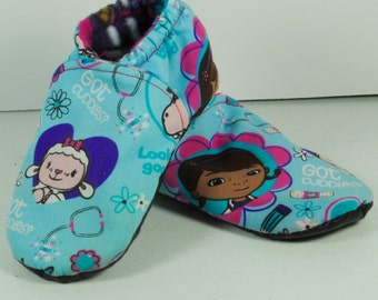 Soft Soled Shoes (character print)