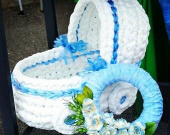 crochet creations shaped pram