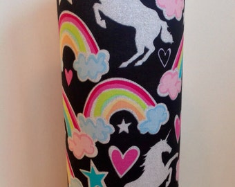 Unicorn Rainbow Decorative Vase/Candleholder (Also Available in Smaller Size)
