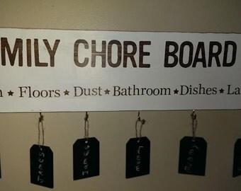 Family Chore Board