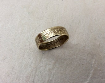 100 MILLIM COIN RING