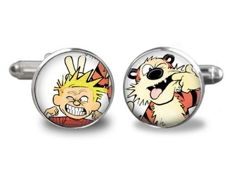 Calvin and Hobbes Silly Face