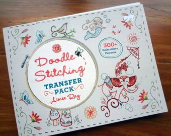 Embroidery Pattern 300+ by Aimee Ray / Doodle Stitching Transfer Pack