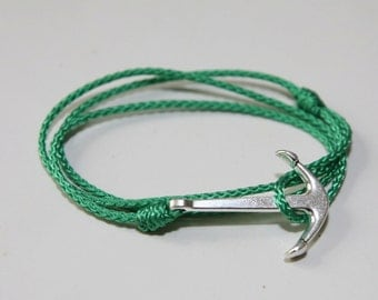 Anchor marine rope bracelet