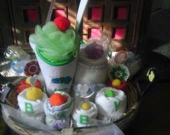 Neutral Baby Sweets Basket