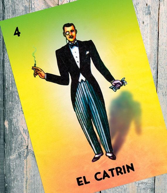 Loteria Mexicana El Catrin