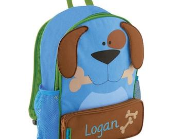 Monogrammed Stephen Joseph Backpack/ Preschool  Bag/ FREE MONOFRAM